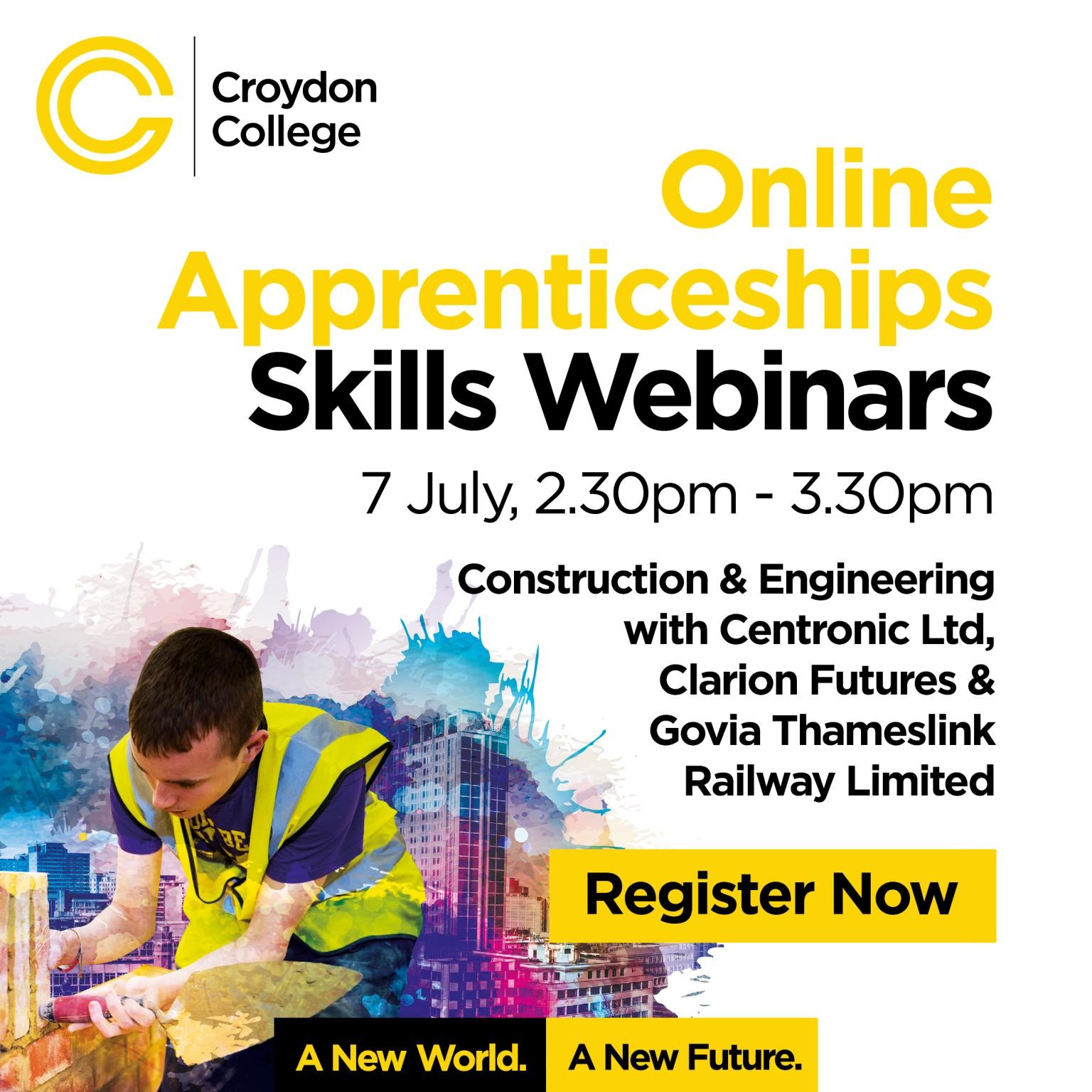 Centronic presents at the Croydon College Skills Webinar for construction and engineering