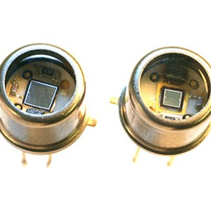 Photodiodes with integrated amplifiers